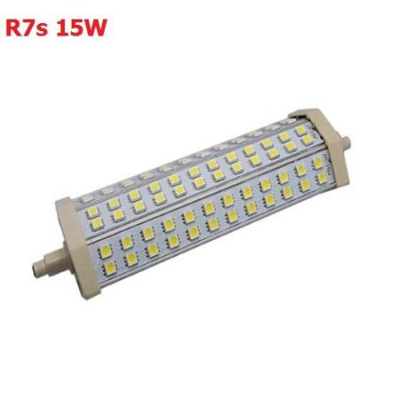 R7s 15w led bulb with 72 x 5050 smd chips in cool white for R7s 150w led
