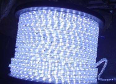 Ds r2 white led rope light 110 220v high brighness in rope light ruian dongsheng photoelectric science and technology coltd aloadofball Choice Image
