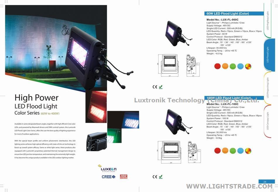 60W 80W 100W 200W 300W 400W 600W 800W 100W LED Outdoor flood light, IP65