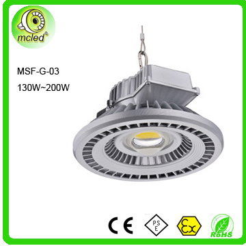20w to 200w is available high bay light fittings