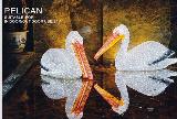 LED Christmas light outdoor decoration IP44 3D animal Pelican Light Granpo