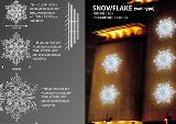 Granpo LED Christmas light outdoor decoration high quolity snow flake LED motif light