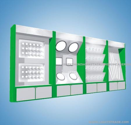 led light showcase lamps tester display cabinet in other led lights