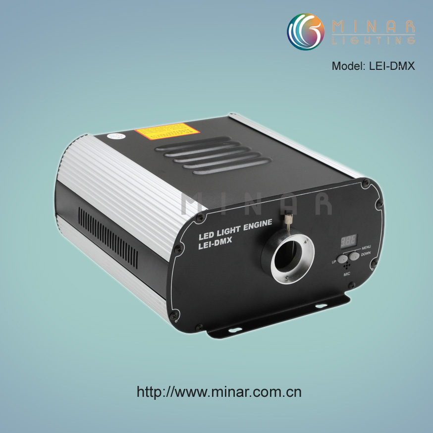 LEI-4001DMX 40W DMX LED Fiber Optic Light Engine