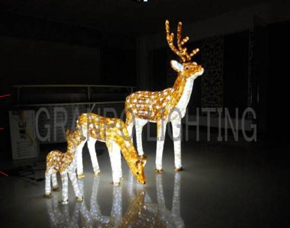 Granpo Led Christmas Light Outdoor Decoration Ip44 3d Deer