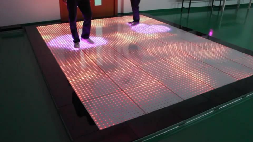 P42 Interactive Sensor Dance Floor China Rige Stage Light Led