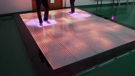 P42 Interactive Sensor Dance Floor China Rige Stage Light