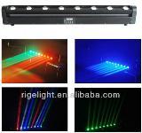 8heads 10w led beam moving head lights,led bar, China RIGE stage lights