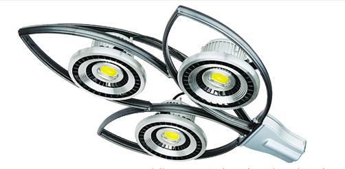 New design 3 heads bright LED street light ML-002