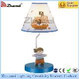 sea rover blue modern metal tabl lamp