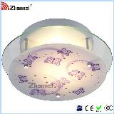 Top Colorful Butterfly Glass Ceiling Lamp