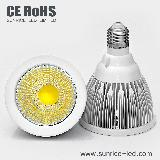 10w cob led par30 spotlight