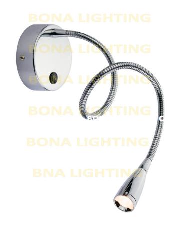 1w Led Flex Reading Headboard Light In Desk Lamp