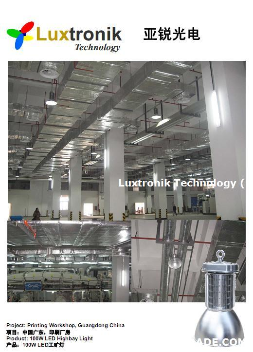 LED Warehouse Lighting, warehouse, factory lighting, Dimmable, IP40 or IP65