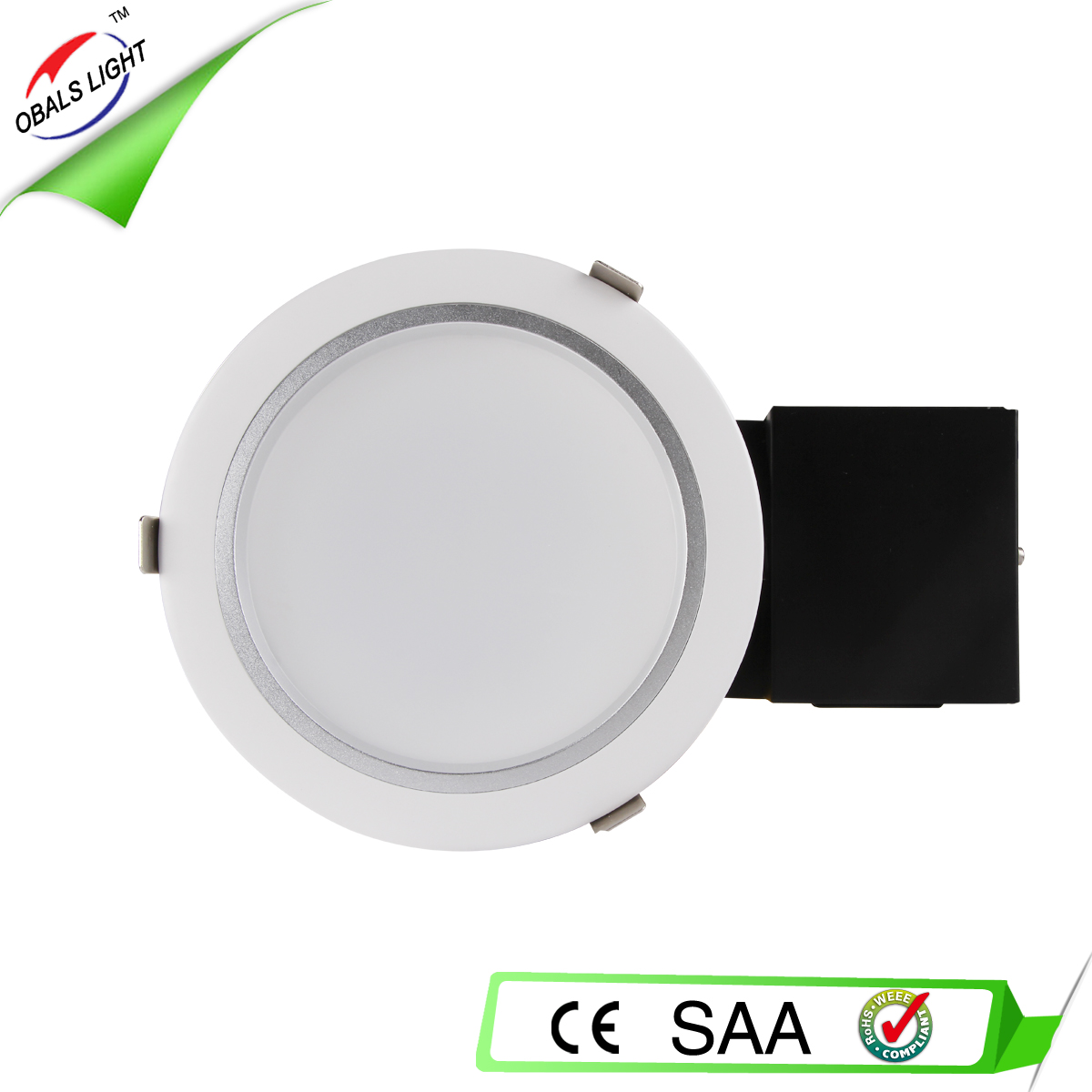 30w round led downlight smd recessed install CE ROHS SAA approved