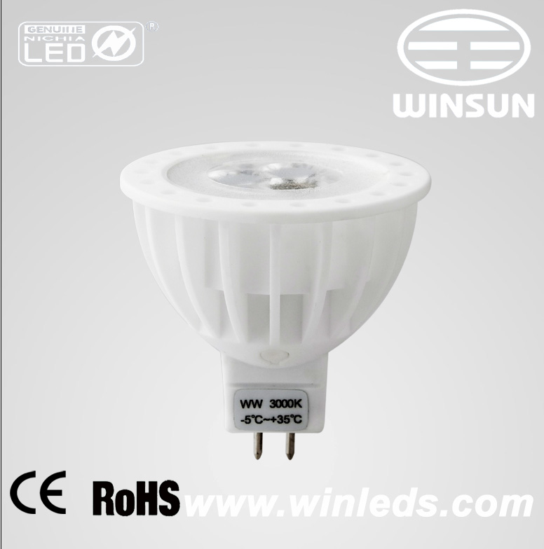 LED spotlight 5W D5005-C-MR16 12VDC/AC 450MA,design lampen,nichia ...