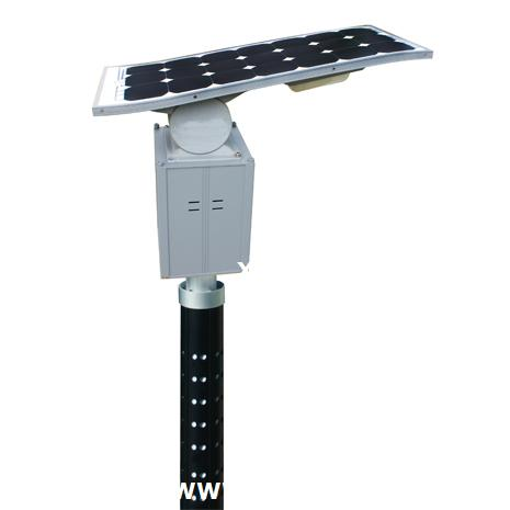 20W LED solar garden light with flexible solar panels