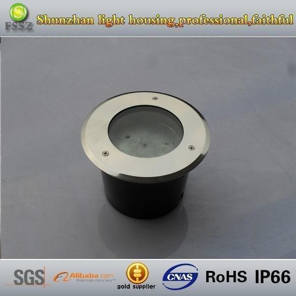 Rgb Underground Light Ip68 Stainless Steel Housing