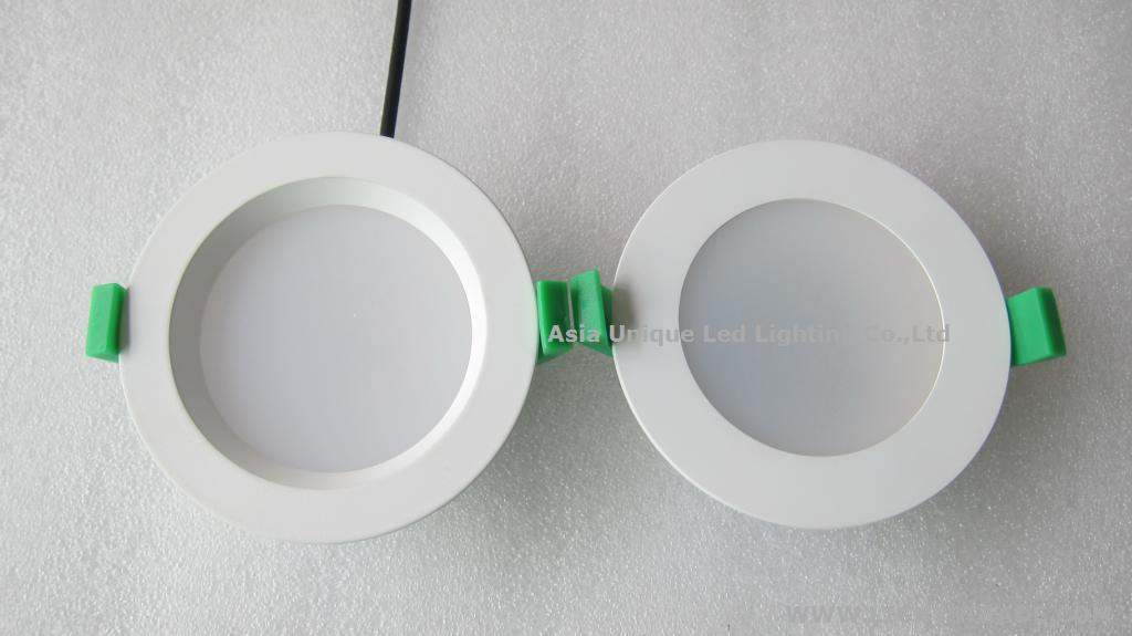 SAA 10W LED Downlight Flat&Sunk Face 800lm