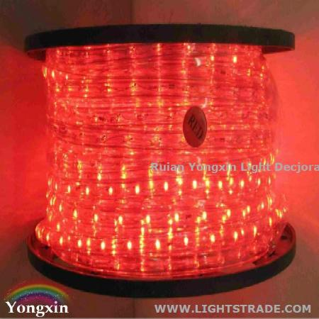 127/220 Volt Outdoor/ Indoor Round Led Rope Lights with Rich Colors ...