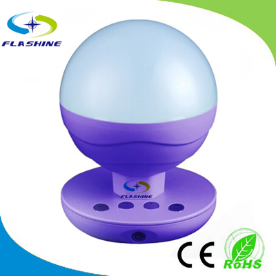 Cute Round Shape LED Table Lamp 2W