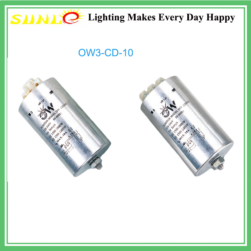 Ignitor for 1500-2000W Metal Halide Lamp