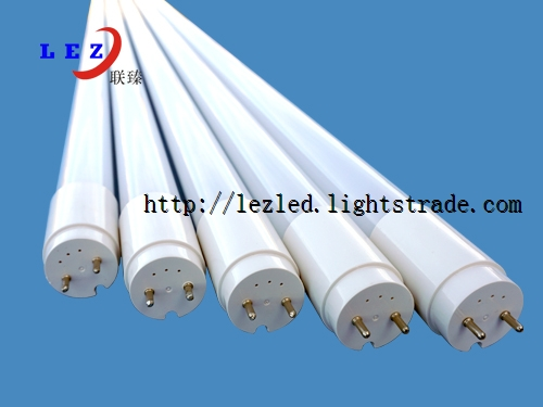 0f75a2a3c79 Clear Or Milky Plastic extrusion 1200mm t8 tube light parts for led lighting
