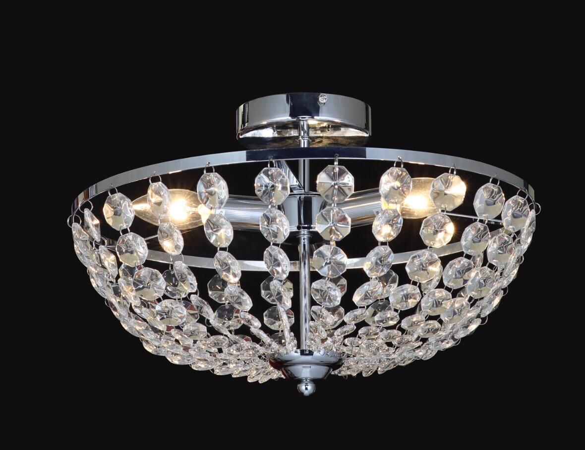 Household Crystal Glass Bling Light Pendant Lamp