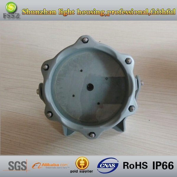 High bright 12w ADC12die cast aluminum led flood lamp shell
