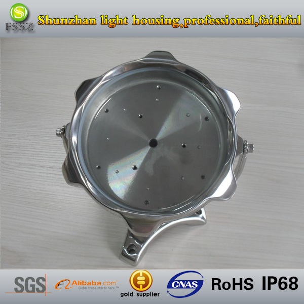 Stainless steel 12W LED underwater light fixtures IP68