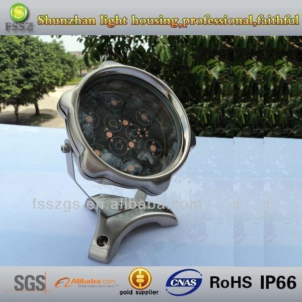 zinc alloy 12 watt LED underwater light fixtures,IP68