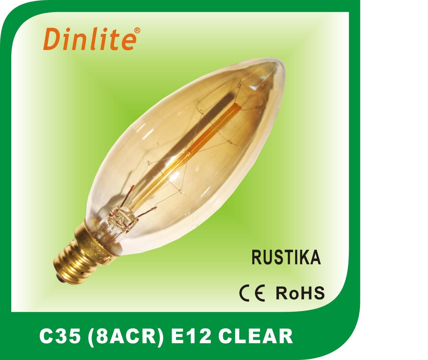 C35 Vintage Bulb Rustica Lamp Decorative Lightings Manufacturers