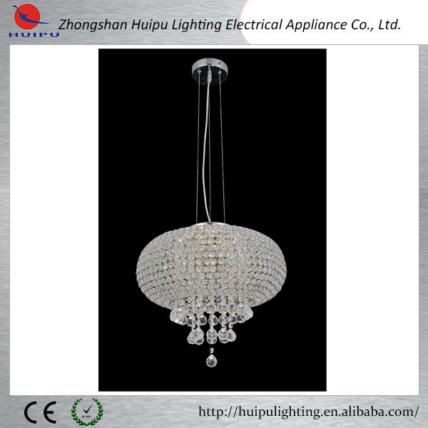 Crystal ball design pendant lamp