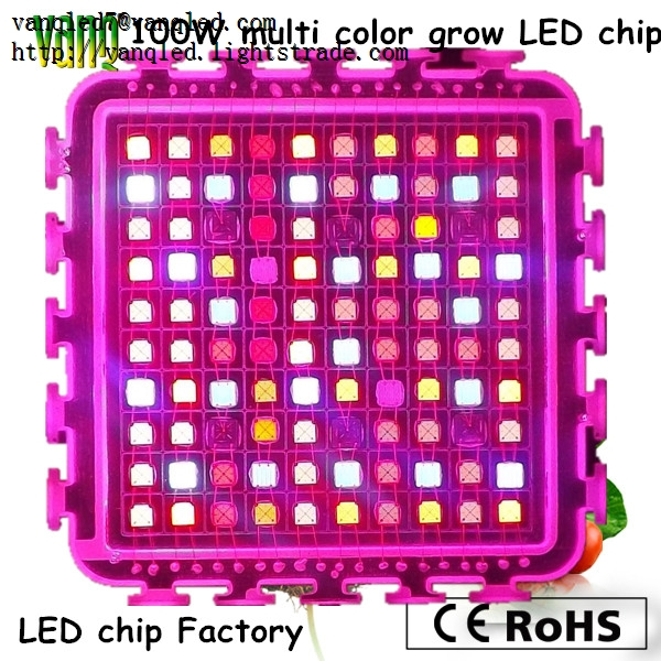 UV COB Led Chip 100w Led Diodes 380nm ,50w High Power LED 365nm-940nm,Multi Color Full Spectrum Led
