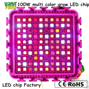 Uv Cob Led Chip 100w Led Diodes 380nm 50w High Power Led 365nm 940nm Multi Color Full
