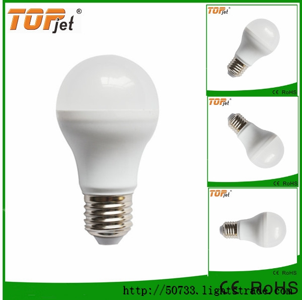 Lowest price!! 6W 7W 8W 9W led bulb e27 with high quality