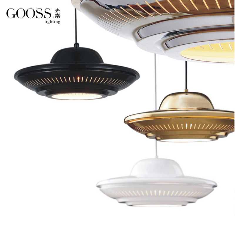Pendant Lamp/New Delicate/Original / Gold Flying Saucer/Droplight