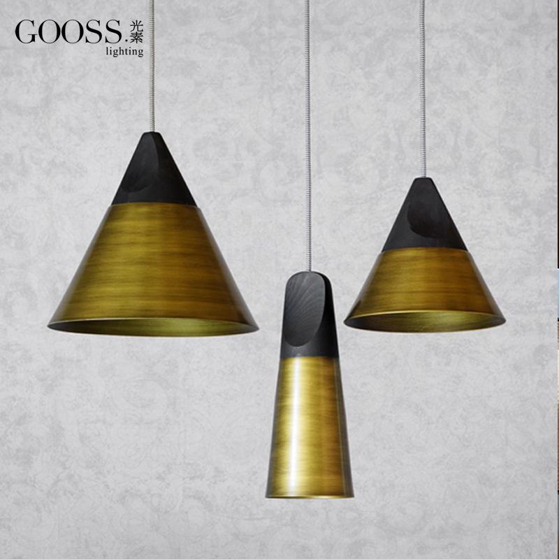 Pendant Lamp/ Delicate/ Modern Simplicity/ Wooden/ Aluminum/ Hor-shape Droplight
