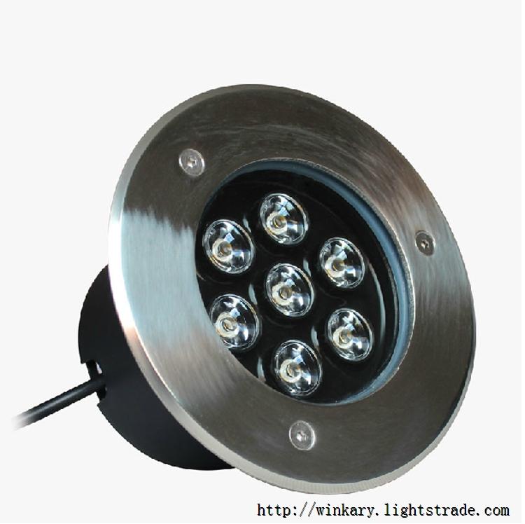 WKY-UND-12 7W LED Inground light