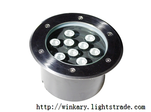 WKY-UND-13 9W LED Inground light