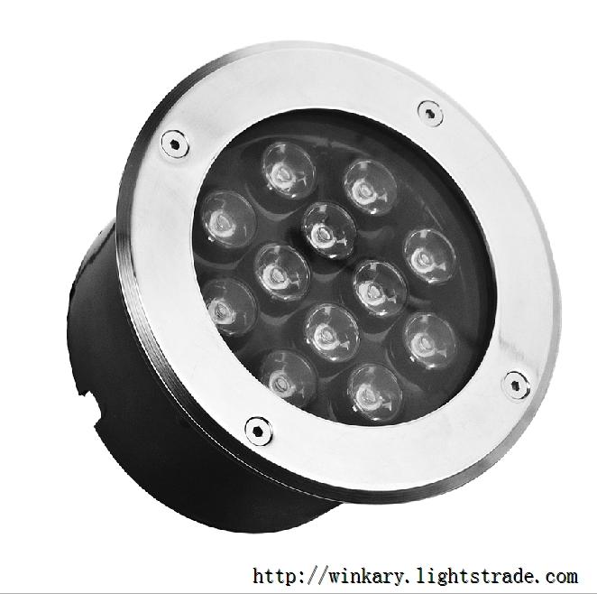 WKY-UND-14 12W LED Inground light