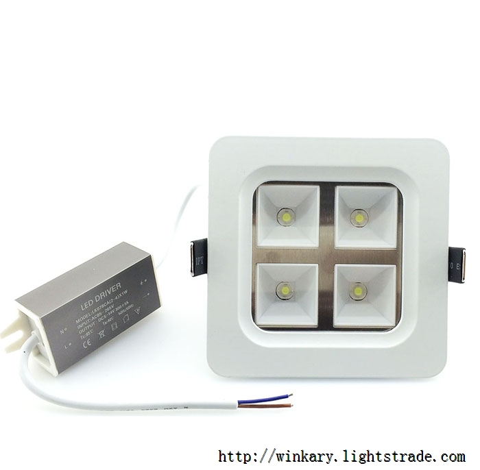 WKY-CELL-01 4W LED panel light