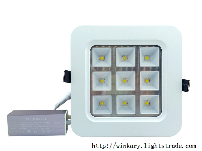 WKY-CELL-02 9W LED panel light