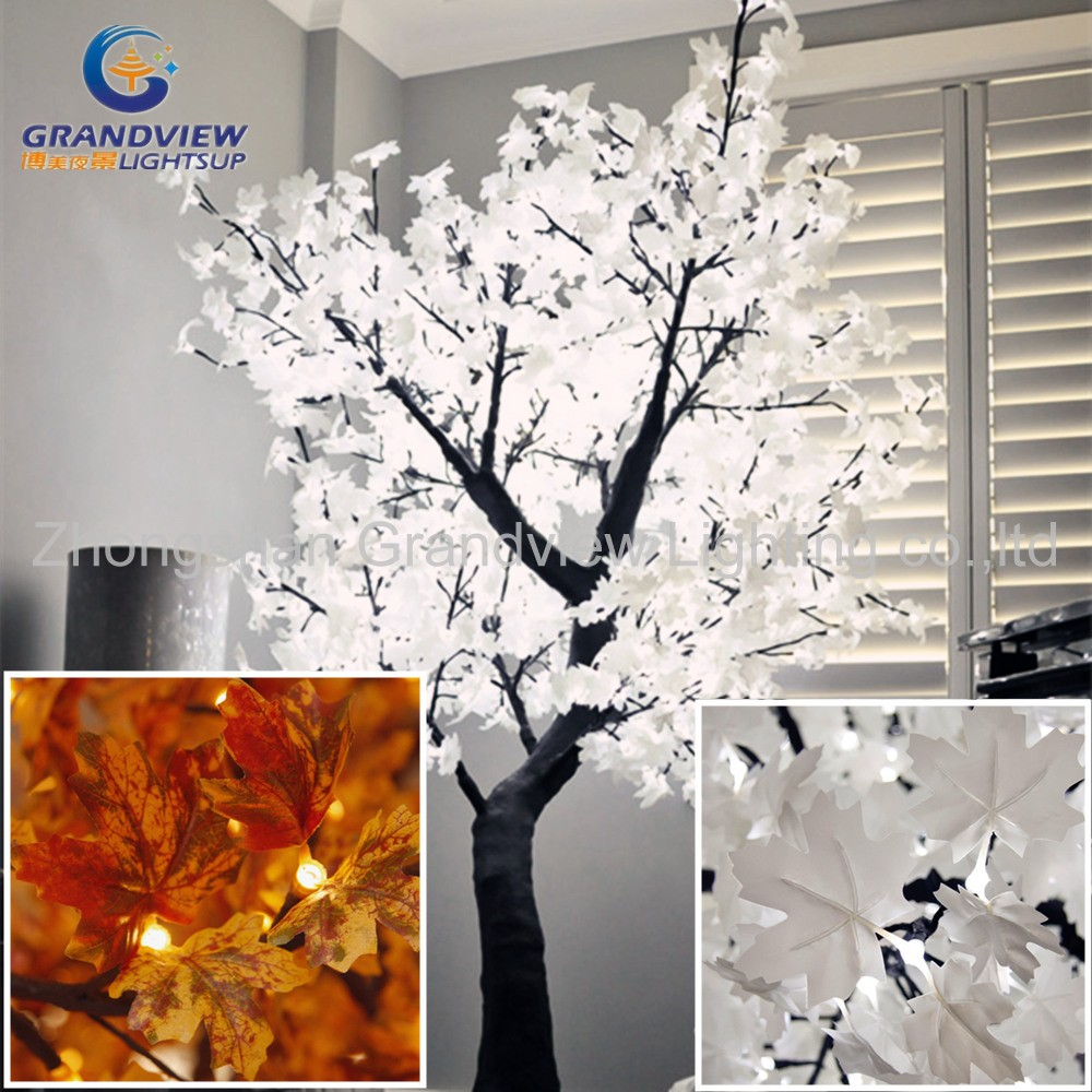 Outdoor street decoration 1.8m Maple LED Light Tree for holiday decoration