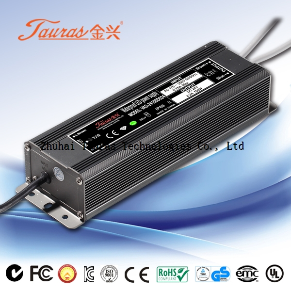 24Vdc 100W Constant Voltage Waterproof LED Power Supply VAS-24100D024