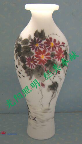 Craft beautiful led vase hot sell light
