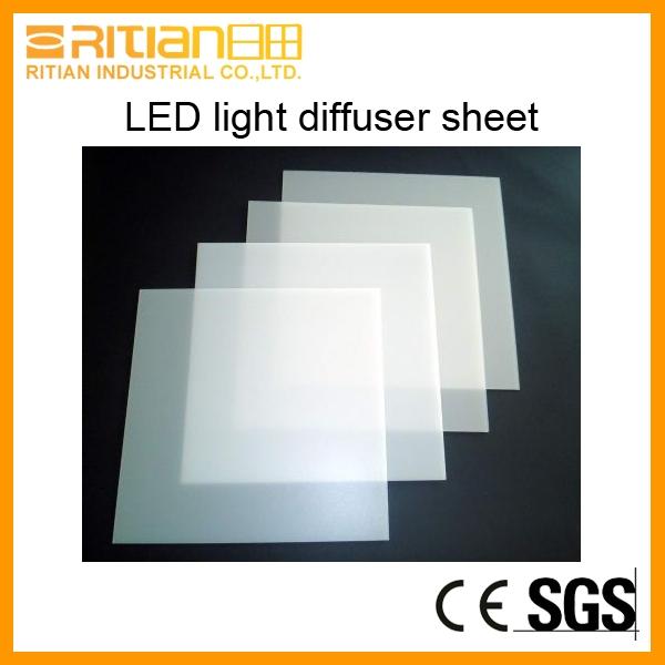 LED acrylic light diffuser sheet for panel light-Zhongshan Ritian