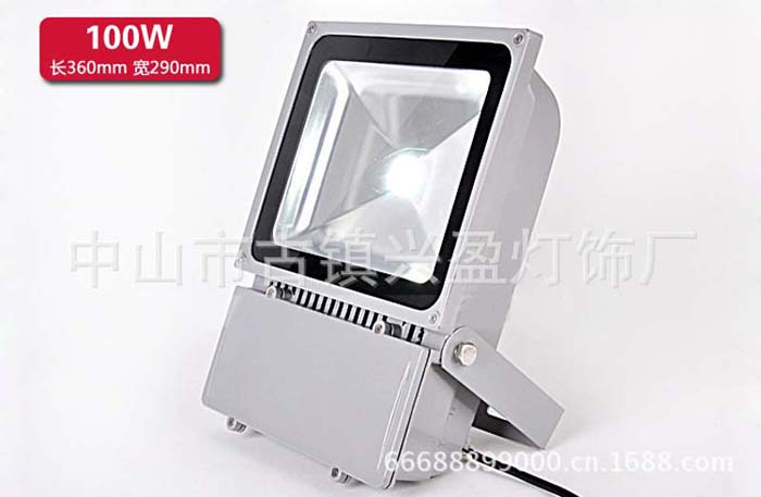 LED100w light floodlight finished OR semi-finished products