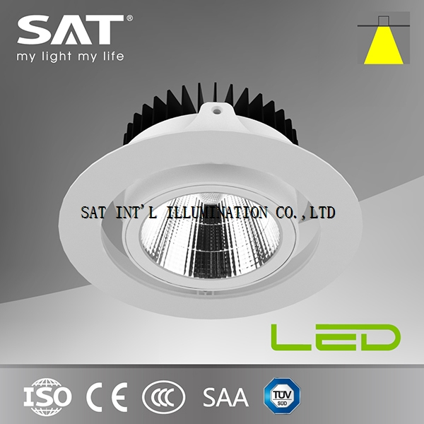 TUV CE/CB/SAA Listed Grille Downlight Led 35W-SAT INTL