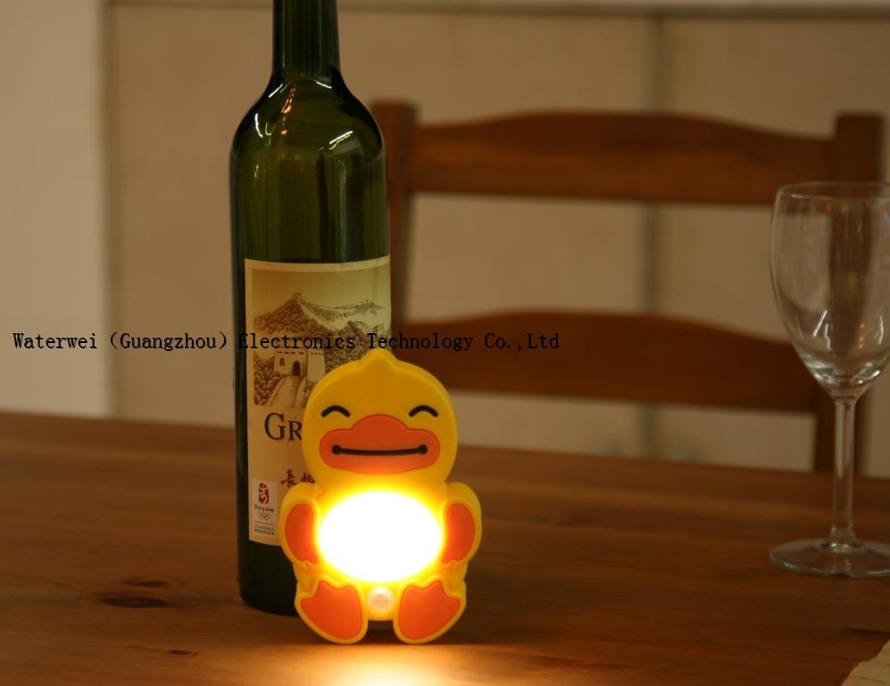 Staregg Duckling Motion & Light Sensor LED Wall Lamp